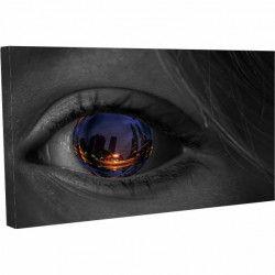 Tablou Canvas Orasul prin ochii ei 20 x 30 cm Tablouri