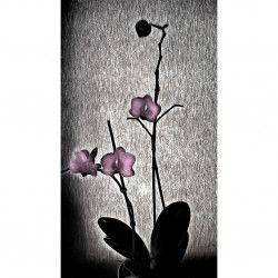 Tablou Canvas Orhidee 40 x 80 cm Rama lemn Multicolor Tablouri