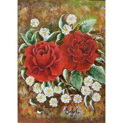 Tablou Canvas Pereche 50 x 70 cm Rama lemn Multicolor Tablouri