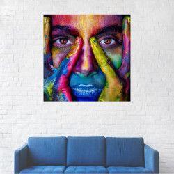 Tablou Canvas Pictura cu acuarela 20 x 20 cm Tablouri