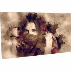 Tablou Canvas Portret Artistic in acuarela 20 x 30 cm Tablouri