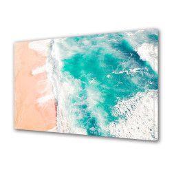 pret preturi Tablou Canvas Premium Peisaj Multicolor Abstract- mare Decoratiuni Moderne pentru Casa 80 x 160 cm