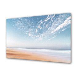 Tablou Canvas Premium Peisaj Multicolor Abstract poza mare si plaja Decoratiuni Moderne pentru Casa 80 x 160 cm Tablouri