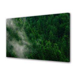 Tablou Canvas Premium Peisaj Multicolor Brazi vazuti de sus Decoratiuni Moderne pentru Casa 80 x 160 cm Tablouri