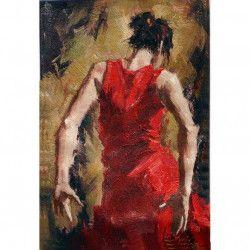 Tablou Canvas Spaniola 60 x 90 cm Rama lemn Multicolor Tablouri