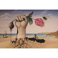 Tablou Canvas Suprarealism Pumn Lalea 90 x 60 cm Multicolor