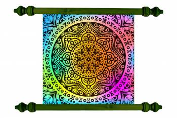 Tablou Mandala Art Love Attraction Mandala 103 Tablouri