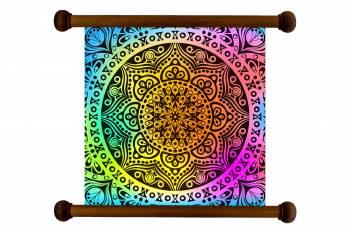Tablou Mandala Art Love Attraction Mandala 110