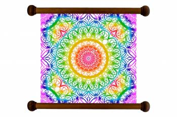 Tablou Mandala Art Love Attraction Mandala 174