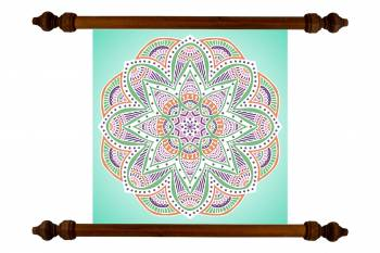 Tablou Mandala Art Love Attraction Mandala 45