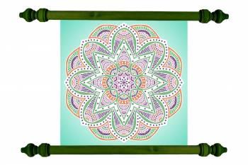 Tablou Mandala Art Love Attraction Mandala 47