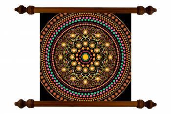 Tablou Mandala Art Money Attraction Mandala 29 Tablouri