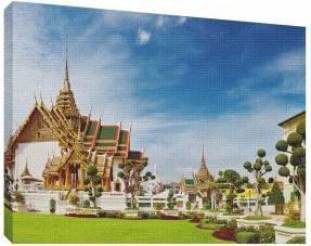 Tailanda 2 - Tablou canvas - 52x70 cm Tablouri