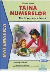 Taina numerelor clasa I - Mihaela Singer - Mate - Teste