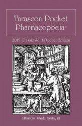 Tarascon Pocket Pharmacopoeia 2019 Classic Shirt-Pocket Edition Carti