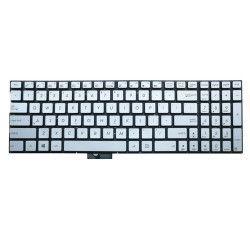 Tastatura Laptop Asus Zenbook UX560 argintie iluminata