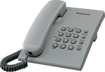 Telefon analogic Panasonic KX-TS500FXH Gri
