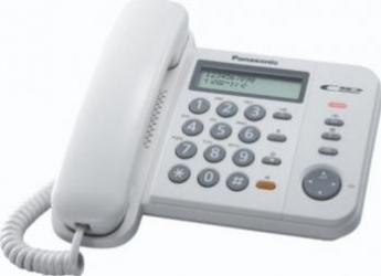 Telefon analogic Panasonic KX-TS580FXW Alb Telefoane