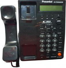 Telefon Cu Fir De Birou Afisaj LCD Negru Telefoane