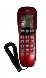 Telefon Cu Fir OHO 307 De Perete Sau Birou Functie Mute Pause Redial Flash Rosu Telefoane