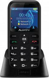 Telefon mobil Allview D2 Senior Dual Sim Black Telefoane Mobile