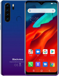 Telefon mobil Blackview A80 Pro 64GB Dual SIM 4G Blue Telefoane Mobile
