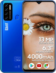 Telefon mobil iHunt S21 Plus 2021 16GB DualSIM 3G Blue Telefoane Mobile