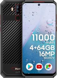 Telefon mobil iHunt Titan P11000 Pro 2021 64GB Dual SIM 4G Black Telefoane Mobile