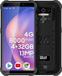 Telefon mobil iHunt Titan P8000 PRO 2021 32GB Dual SIM 4G Black Telefoane Mobile