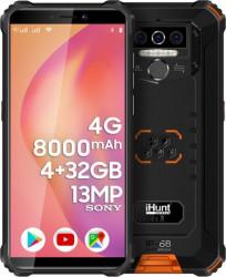 Telefon mobil iHunt Titan P8000 PRO 2021 32GB Dual SIM 4G Orange Telefoane Mobile