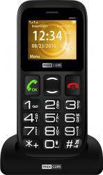 Telefon mobil MaxCom Comfort MM426 Classic Dual SIM Black Telefoane Mobile
