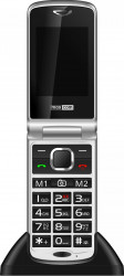 Telefon mobil MaxCom Comfort MM831 Single Sim 3G Silver Black + stand incarcare Telefoane Mobile