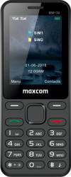 Telefon mobil MaxCom MM139 Dual SIM Black Telefoane Mobile
