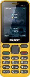 Telefon mobil MaxCom MM139 Dual SIM Yellow Telefoane Mobile