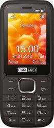 Telefon mobil MaxCom MM142 Classic Dual SIM Black Telefoane Mobile