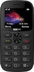 Telefon mobil MaxCom MM471 Classic Single SIM cu stand incarcare Gray Telefoane Mobile