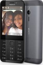 Telefon Mobil Nokia 230 Dual SIM Dark Silver Telefoane Mobile
