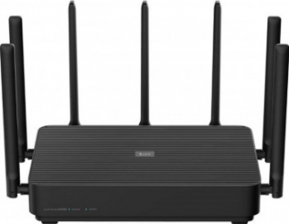 Router wireless Xiaomi Mi AIoT Router AC2350 2.4G 5G LAN 1000 Mbps OpenWRT Negru Routere