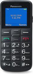 Telefon mobil Panasonic KX-TU110EXB Dual SIM 2G Black Telefoane Mobile