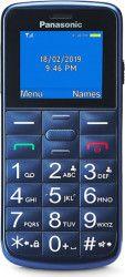 Telefon mobil Panasonic KX-TU110EXC Dual SIM Blue Telefoane Mobile