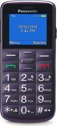 Telefon mobil Panasonic KX-TU110EXV 2G Dual SIM Violet Telefoane Mobile