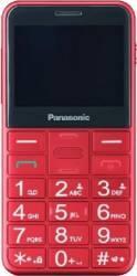 Telefon mobil Panasonic KX-TU150EXR pentru Seniori cu buton SOS Rosu