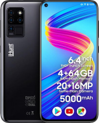 Telefon mobil iHunt S30 Ultra Apex 2021 64GB Dual SIM 4G Black Telefoane Mobile