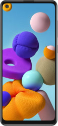 Telefon mobil Samsung Galaxy A21s 32GB Dual SIM 4G Prism Crush Silver Telefoane Mobile