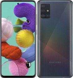 Telefon mobil Samsung Galaxy A51 A515 128GB Dual SIM 4G Prism Crush Black Telefoane Mobile