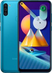 Telefon mobil Samsung Galaxy M11 32GB Dual SIM 4G Metallic Blue Telefoane Mobile