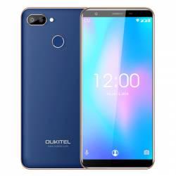 Telefon Mobil Oukitel C11 Pro Albastru 5.5 Inch 18 9 Android 8.1 MTK6739 3G RAM 16G ROM 8MP+2MP 3400mAh 4G Telefoane Mobile
