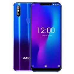 Telefon Mobil OUKITEL U23 Violet 6.18 6G RAM 64G ROM Wireless Charge Android 8.1 MTK6763T Helio P23 Octa Core Telefoane Mobile