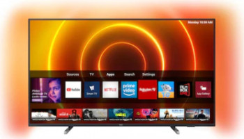 Televizor LED 139 cm Philips 55PUS780512 4K UltraHD Smart TV Televizoare