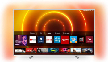 Televizor LED 139 cm Philips 55PUS785512 4K Ultra HD Smart TV Televizoare